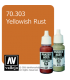 Vallejo Model Color: Panzer Aces - Yellowish Rust (17ml)