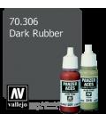 Vallejo Model Color: Panzer Aces - Dark Rubber (17ml)