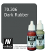 Vallejo Model Color: Panzer Aces - Dark Rubber (17ml)