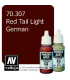 Vallejo Model Color: Panzer Aces - Red Tail Light German (17ml)
