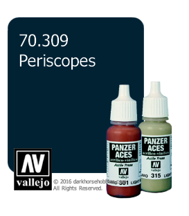 Vallejo Model Colors - Panzer Aces: Acrylic Paint - Periscopes (17ml)