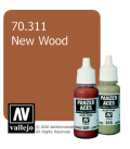 Vallejo Model Color: Panzer Aces - New Wood (17ml)