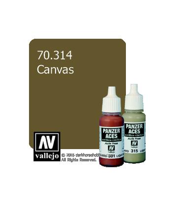 Vallejo Model Colors - Panzer Aces: Acrylic Paint - Canvas (17ml)