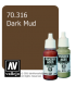 Vallejo Model Color: Panzer Aces - Dark Mud (17ml)