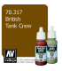 Vallejo Model Color: Panzer Aces - British Tank Crew (17ml)