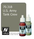 Vallejo Model Color: Panzer Aces - US Army Tank Crew (17ml)