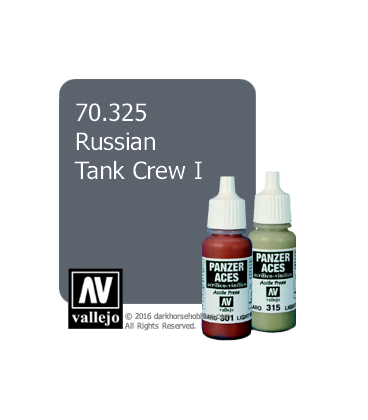Vallejo Model Color: Panzer Aces - Russian Tank Crew I (17ml)