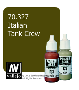 Vallejo Model Color: Panzer Aces - Italian Tank Crew (17ml)