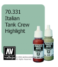 Vallejo Model Color: Panzer Aces - Italian Tank Crew Highlight (17ml)