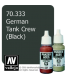 Vallejo Model Color: Panzer Aces - German Tank Crew - Black (17ml)