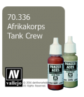 Vallejo Model Color: Panzer Aces - Afrikakorps Tank Crew (17ml)