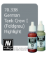 Vallejo Model Color: Panzer Aces - German Tank Crew I - Feldgrau Highlight (17ml)