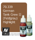 Vallejo Model Color: Panzer Aces - German Tank Crew II - Feldgrau Highlight (17ml)