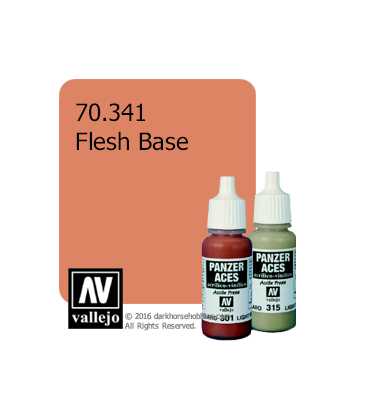 Vallejo Model Color: Panzer Aces - Flesh Base (17ml)