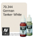 Vallejo Model Color: Panzer Aces - German Tanker White (17ml)