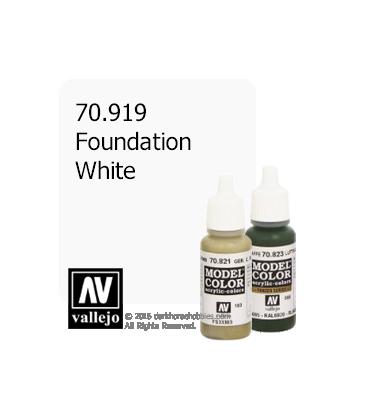Vallejo Model Color: Foundation White (17ml)
