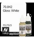 Vallejo Model Color: Gloss White (17ml)