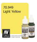 Vallejo Model Color: Light Yellow (17ml)