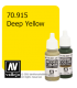 Vallejo Model Color: Deep Yellow (17ml)