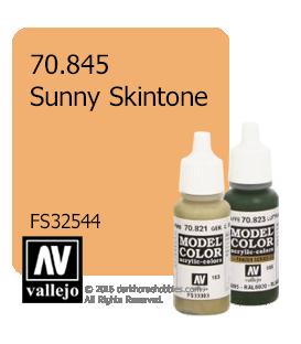 Vallejo Model Color: Sunny Skintone (17ml)