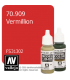 Vallejo Model Color: Vermillion (17ml)