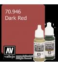 Vallejo Model Color: Dark Red (17ml)