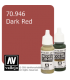Vallejo Model Color: Dark Red (17ml)