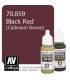 Vallejo Model Color: Black Red (17ml)