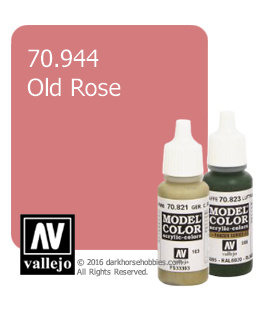 Vallejo Model Color: Old Rose (17ml)