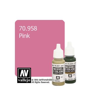 Vallejo Model Color: Pink (17ml)