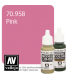 Vallejo Model Color: Pink (17ml)