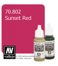 Vallejo Model Color: Sunset Red (17ml)