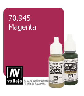 Vallejo Model Color: Magenta (17ml)