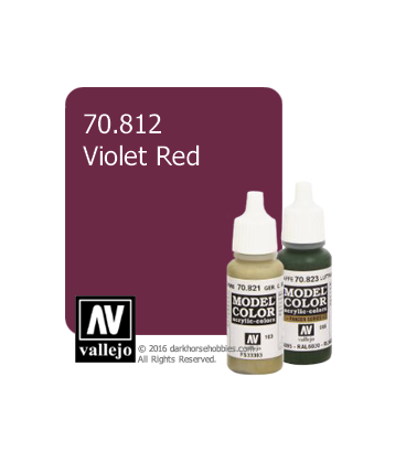 Vallejo Model Color: Violet Red (17ml)