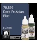 Vallejo Model Color: Dark Prussian Blue (17ml)