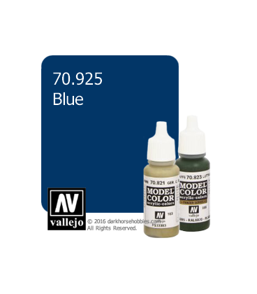 Vallejo Model Color: Blue (17ml)