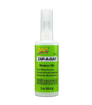 ZAP CA+ (Green Label) Medium Viscosity - 2 oz