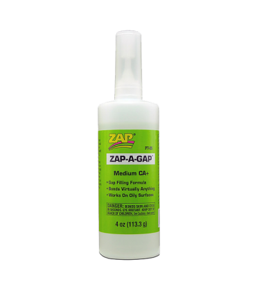 ZAP CA+ (Green Label) Medium Viscosity - 4 oz