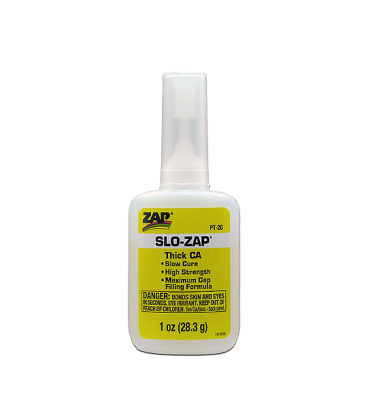 SLO ZAP CA (Yellow Label) Thick Viscosity - 1 oz