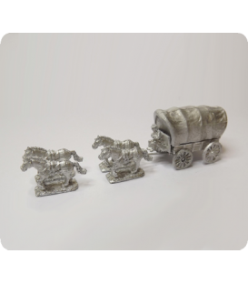 10mm American Civil War: Wagon