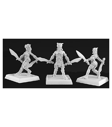 Warlord: Necropolis - Chattel, Necropolis Adept (9-pack) (unpainted)