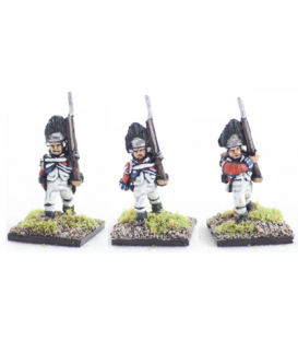 10mm American Revolution: British Grenadiers 1768 warrant, march attack
