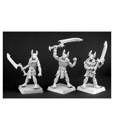Warlord: Nefsokar - Anubis Guards, Nefsokar Grunt (9-pack) (unpainted)