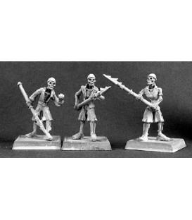 Warlord: Razig - Harpooners, Razig Grunt (9-pack) (unpainted)