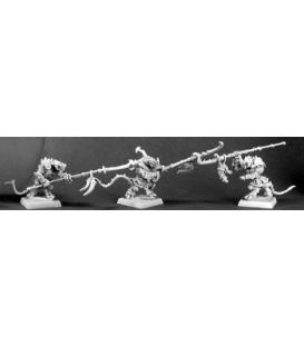 Warlord: Reptus - Clutchling Longstrikers (7-pack) (unpainted)