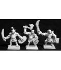 Warlord: Reven - Bull Orc Fighters Grunt Box Set