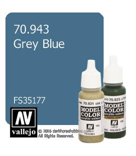 Vallejo Model Color: Grey Blue (17ml)