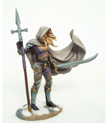 Visions in Fantasy: Female Undead Hunter (painted by Jessica Rich)