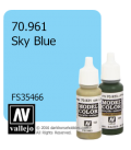 Vallejo Model Color: Sky Blue (17ml)