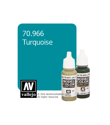Vallejo Model Color: Turquoise (17ml)